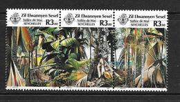 SEYCHELLES-ZIL ELOIGNE SESEL 1987 TOURISME-FORET  YVERT N163/65 NEUF MNH** - Seychelles (1976-...)