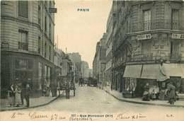 PARIS  11 Eme Arrondissement   Rue Mercoeur - Arrondissement: 11