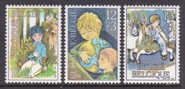 SERIE NEUVE DE BELGIQUE - ENFANTS N° Y&T 2151 A 2153 - Enfance & Jeunesse