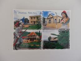 Guadeloupe, Pointe-Noire, L'église, L'hôtel De Ville. Habitatats Traditionnels. - Guadeloupe