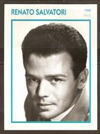 PORTRAIT DE STAR 1960 ITALIE ITALIA ITALY - ACTEUR RENATO SALVATORI - ACTOR CINEMA - Photographs