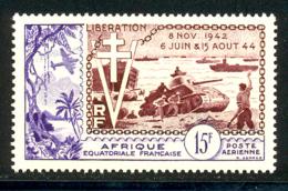 AEF PA 1954 Yvert 57 ** TB Liberation - A.E.F. (1936-1958)