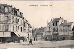 POISSY PLACE DE LA GARE TBE - Poissy