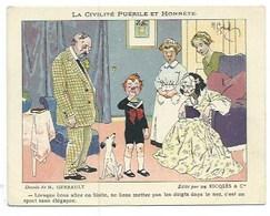 """11 CHROMOS PUBLICITAIRES - RICQLES - """"Civilité Puérile Et Honnête"""" - """"Les Proverbes"""" - Publicité"""