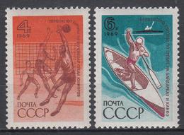 USSR - Michel - 1969 - Nr 3646/47 - MNH** - Ongebruikt