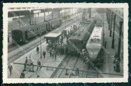 Napoli Città Stazione Centrale Treno Foto Cartolina MX6430 - Napoli