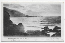Port Erin And Calf Of Man- Valentine Undivided Back - Isle Of Man