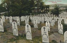 Ancon Cemetery Panama  Edit Maduro  Very Young People Joseph Watson , William Jones, Rosana Moore Etc - Panama