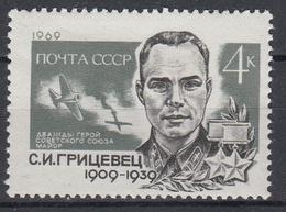 USSR - Michel - 1969 - Nr 3673 - MNH** - 1923-1991 URSS