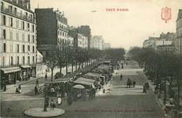 PARIS  14 Eme Arrondissement  TOUT PARIS Boulevard Et Marché Edgar Quinet - Arrondissement: 14