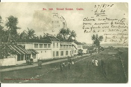 CEYL0N - GALLE / STREET SCENE - Sri Lanka (Ceylon)