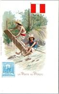 TIMBRES --  La Poste Au PEROU - Briefmarken (Abbildungen)