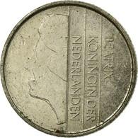 Monnaie, Pays-Bas, Beatrix, 25 Cents, 1984, TB+, Nickel, KM:204 - 1980-… : Beatrix