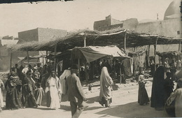 Real Photo Deir Ez Zor Le Marché . Market - Syria