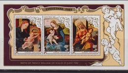 Penrhyn 1982 Natale Christmas Navidas Sheet MNH - Natale