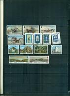 ILE DE MAN TRAM-NOEL 76-J.WESLEY-EUROPA 77 14 VAL NEUFS A PARTIR DE 0,75 EUROS - Isola Di Man
