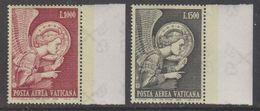 Vatican City 1968 Erzengel Gabriel 2v (+margin) ** Mnh (42761A) - Luchtpost