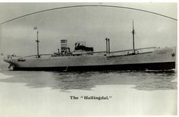 The Hallingdal +-  12 * 9 CM BARCO BOAT Voilier - Schiffe