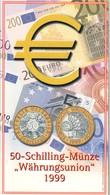 AUSTRIA 1999 50 SCHILLING MUNZE  UNCIRCULATED COIN - Austria