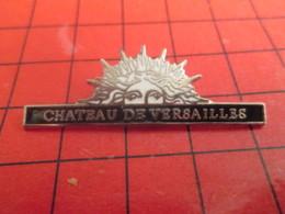 712b Pin's Pins / Beau Et Rare : Thème VILLES / CHATEAU DE VERSAILLES ROI SOLEIL Fils De Madame Soleil ? - Städte
