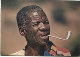 CPM - NIGER - Fumeur De Pipe - Photo Alain Denis - Niger