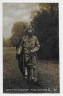 Warwick Pageant - King Edward II - Warwick