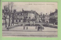 SARLAT : Station De Tramway Place De La Petite Rigaudie. 2 Scans. Edition PDS - Sarlat La Caneda