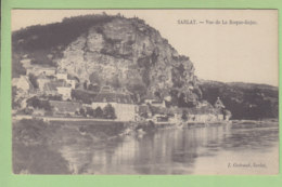 SARLAT : Vue De La Roque Gajac. 2 Scans. Edition Guiraud - Sarlat La Caneda