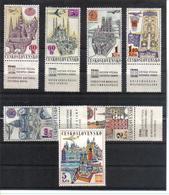 POL470 TSCHECHOSLOWAKEI CSSR 1967 MICHL 1738/44 Zf Mit ZIERFELD ** Postfrisch SIEHE ABBILDUNG - Tschechoslowakei/CSSR