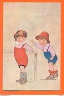 "CPA Illustrateur Ilalien à Identifier "" Enfants ""  FJC 18 - 1900-1949"