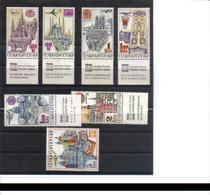POL471 TSCHECHOSLOWAKEI CSSR 1967 MICHL 1738/44 Zf Mit ZIERFELD ** Postfrisch SIEHE ABBILDUNG - Tschechoslowakei/CSSR