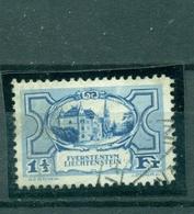 Liechtenstein, Schloß, Nr 71 Gestempelt - Liechtenstein