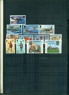 ILE DE MAN 50 R.A.F.-ANNIVERSAIRES 78-EUROPA 78-79 12 VAL NEUFS A PARTIR DE 0.60 EUROS - Isle Of Man