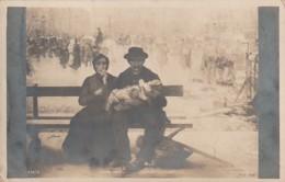 ***  PEINTURE  ***   Salon De Paris 1903  - J ADLER  Le Banc - Neuve/unsed TTB Précurseur - Peintures & Tableaux