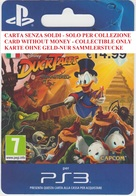 Game Card Italy PlayStation 2013 Duck Tales - Gift Cards