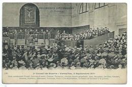 PARIS 1871 - LA COMMUNE (18) - CONSEIL DE GUERRE - VERSAILLES - CPA - Autres