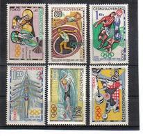 POL461 TSCHECHOSLOWAKEI CSSR 1964 MICHL 1488/93 ** Postfrisch SIEHE ABBILDUNG - Tschechoslowakei/CSSR