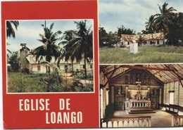 CPM - CONGO - Eglise De LOANGO - Congo - Brazzaville