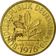 Monnaie, République Fédérale Allemande, 10 Pfennig, 1976, Stuttgart, TB+ - 10 Pfennig