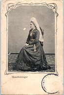 Islande - Skautbuningur (manque Timbre) Iceland – Skautbuningur – Woman – Costume - Iceland