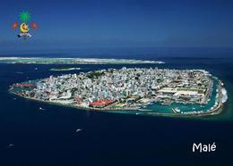 Maldives Malé Island Aerial View New Postcard Malediven AK - Maldives