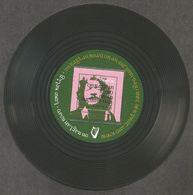 Ierland  2019 Irish MusicLuke Kelly On Raglan Road   Special 45 Shaped Card  With M/s    Blokje    Postfris/mnh/neuf - Ongebruikt