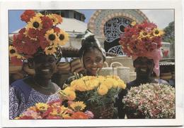 CPM - Couleurs Du SENEGAL - Les Fleuristes à KERMEL (marchandes De Fleurs) - Senegal