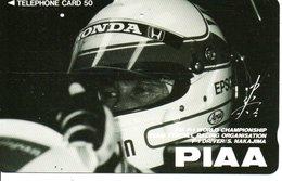 Formule 1 Formula Automobe Piaa - F1 World   Championship Phonecard  Telefonkarten (G150) - Sport
