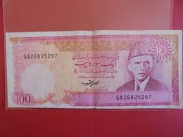 PAKISTAN 100 RUPEES 1986 CIRCULER - Pakistan