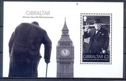 GIBRALTAR    (WEU 050) - Sir Winston Churchill