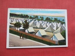 Military Training  Camp Plattsburgh NY     Ref 3358 - Militaria