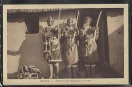 CPA - LESOTHO - Jeunes Filles Zoulous Et Guitares - Lesotho