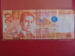 PHILIPPINES 20 PISO 2012  CIRCULER - Philippines