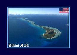 Marshall Islands Bikini Atoll UNESCO New Postcard Marshallinseln AK - Marshall